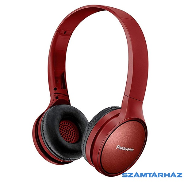 Panasonic RP-HF410BE-R bordó Bluetooth fejhallgató headset