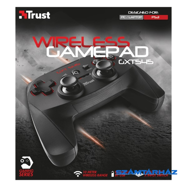 Trust GXT 545 Yula wless PC   PS3 gamer gamepad 7210b3e760
