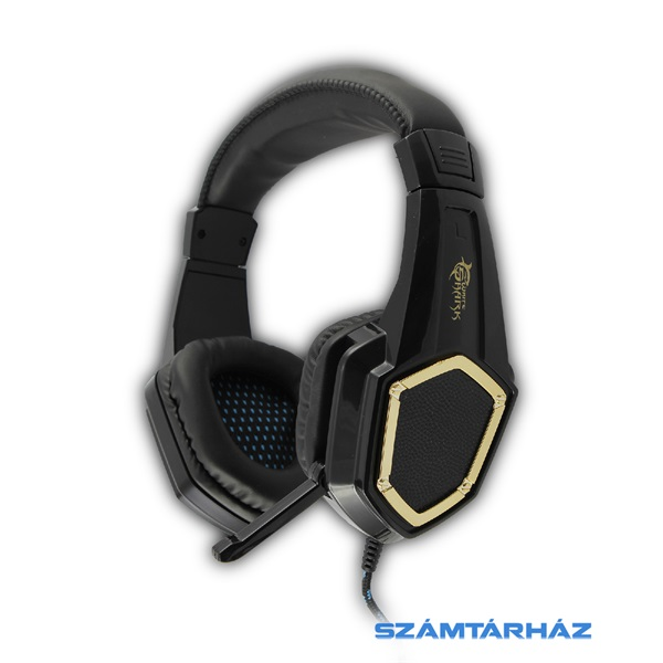 White Shark GHS-1642 CHEETAH fekete Gaming headset